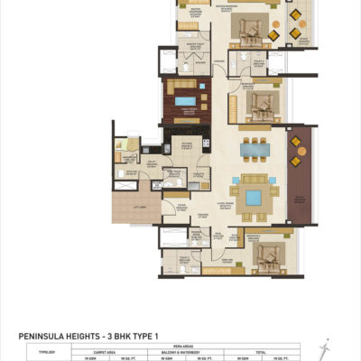 peninsula-heights-bangalore-floor-plan